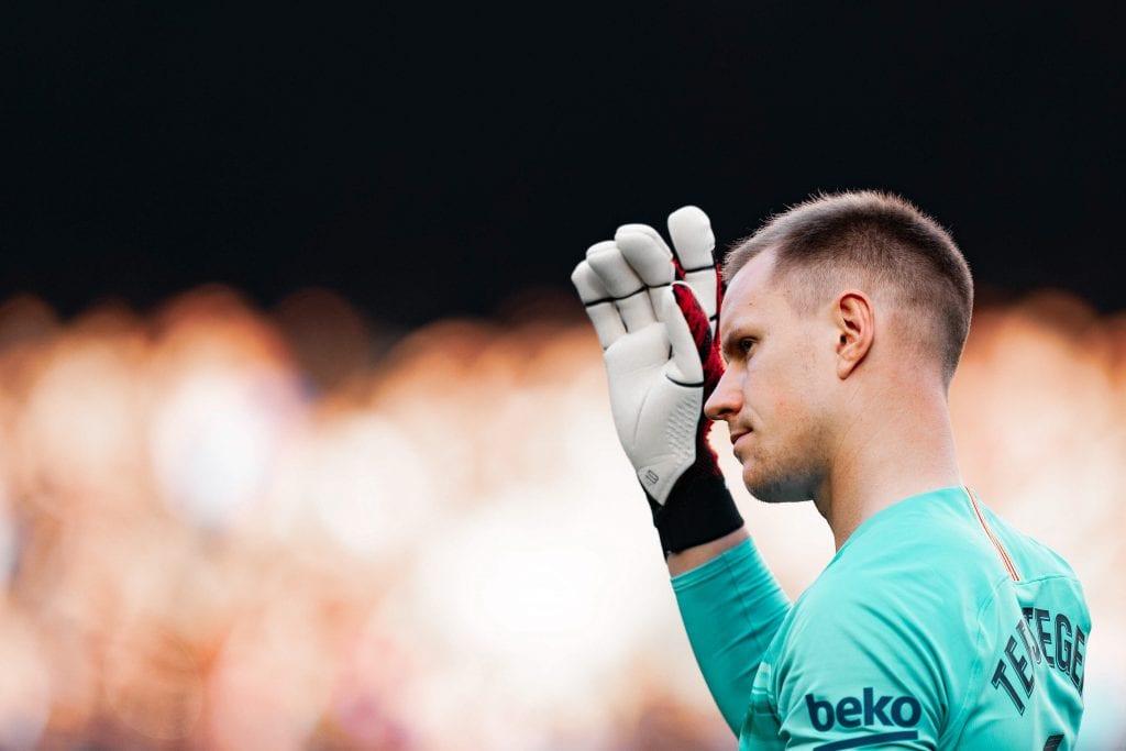 Marc-André ter Stegen Barcelona Athletic Club line-up