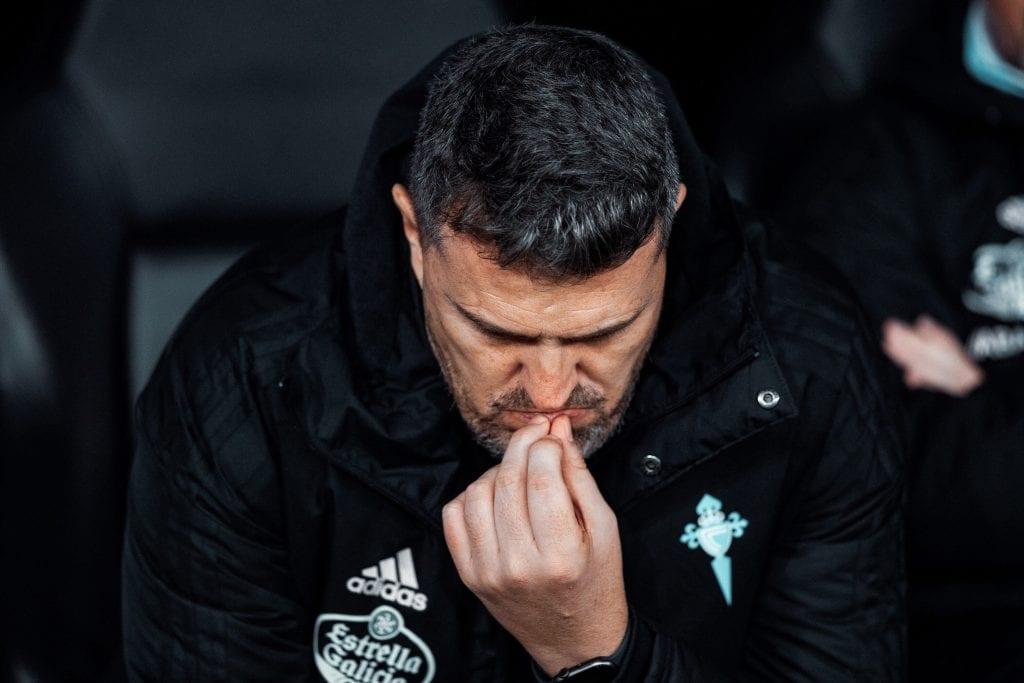 Óscar García RC Celta de Vigo tactical analysis