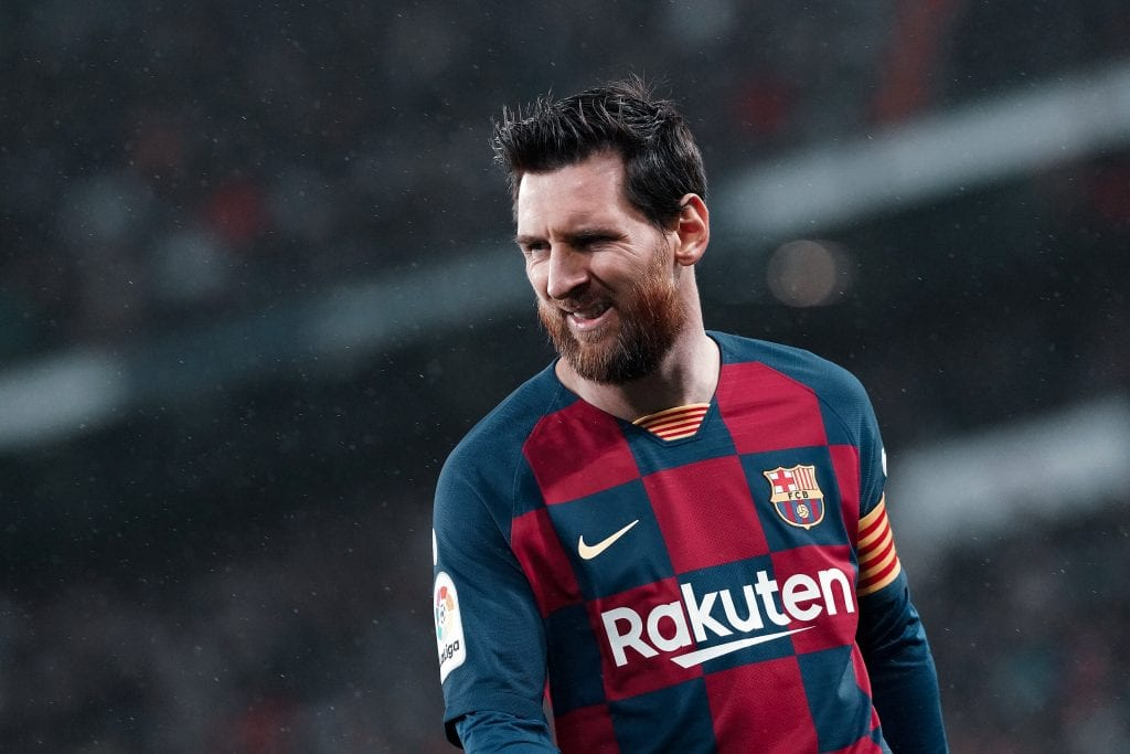 Lionel Messi Barcelona coronavirus