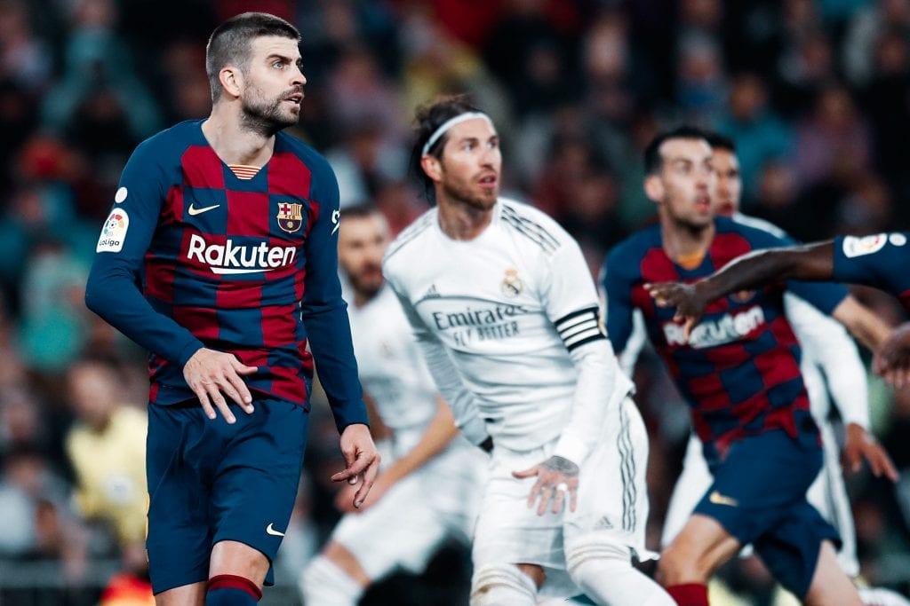 Gerard Piqué Barcelona Madrid La Liga