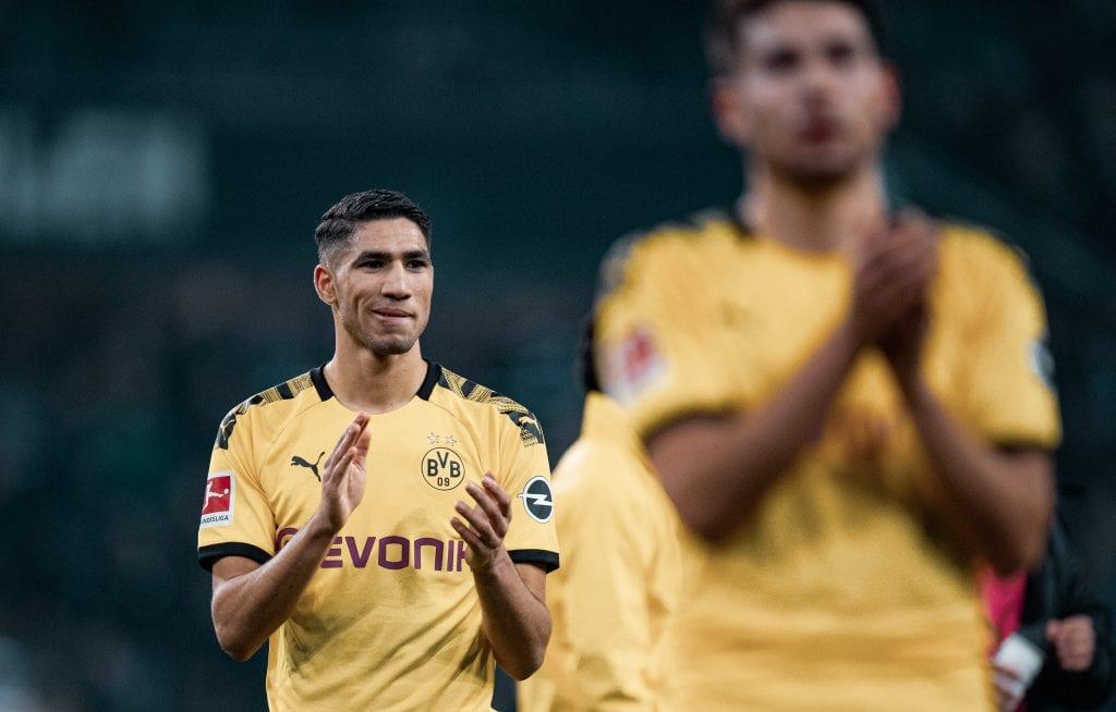 Achraf Hakimi Borussia Dortmund Real Madrid Barça transfers