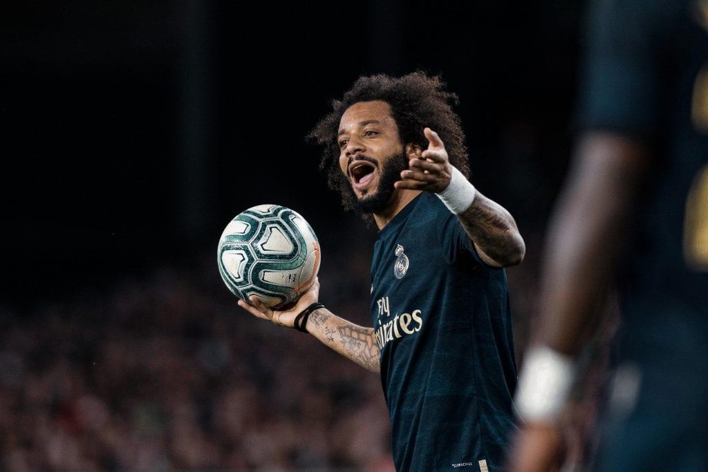 Marcelo Vieira Real Madrid La Liga matchday 29