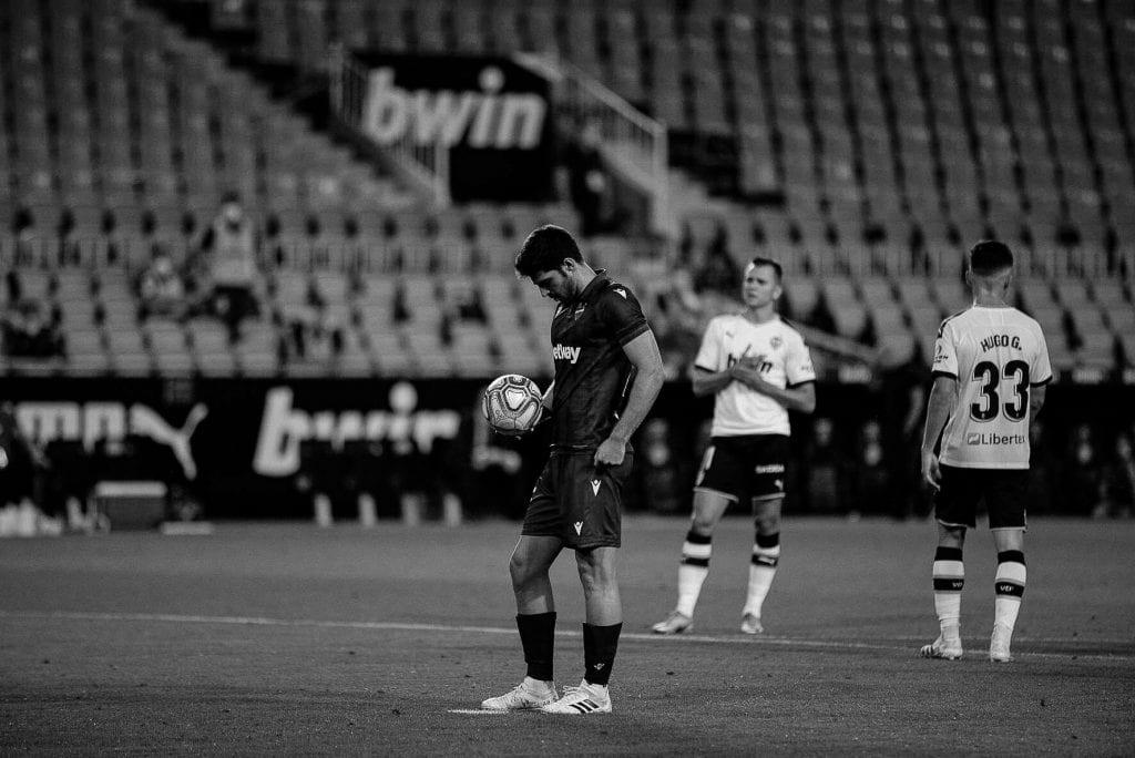 Gonzalo Melero Levante UD Valencia CF La Liga matchday 28