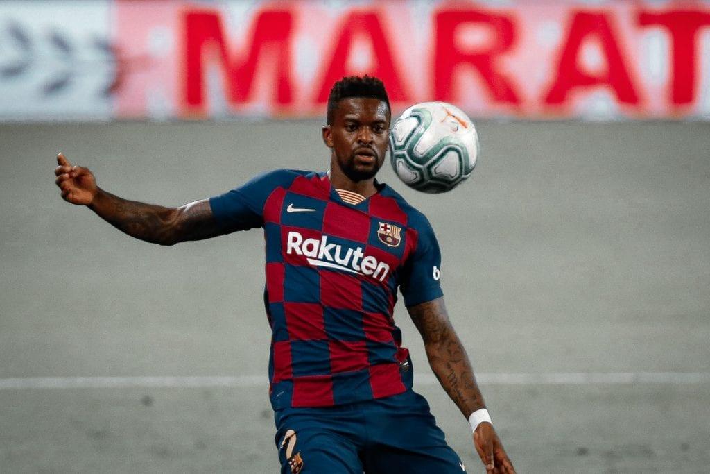 Nélson Semedo Barcelona Sevilla takes