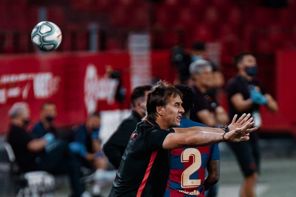 Julen Lopetegui Sevilla Barcelona match review