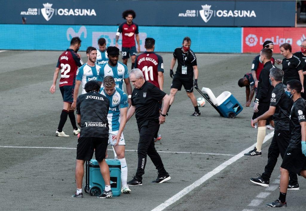 CD Leganés CA Osasuna La Liga matchday 32