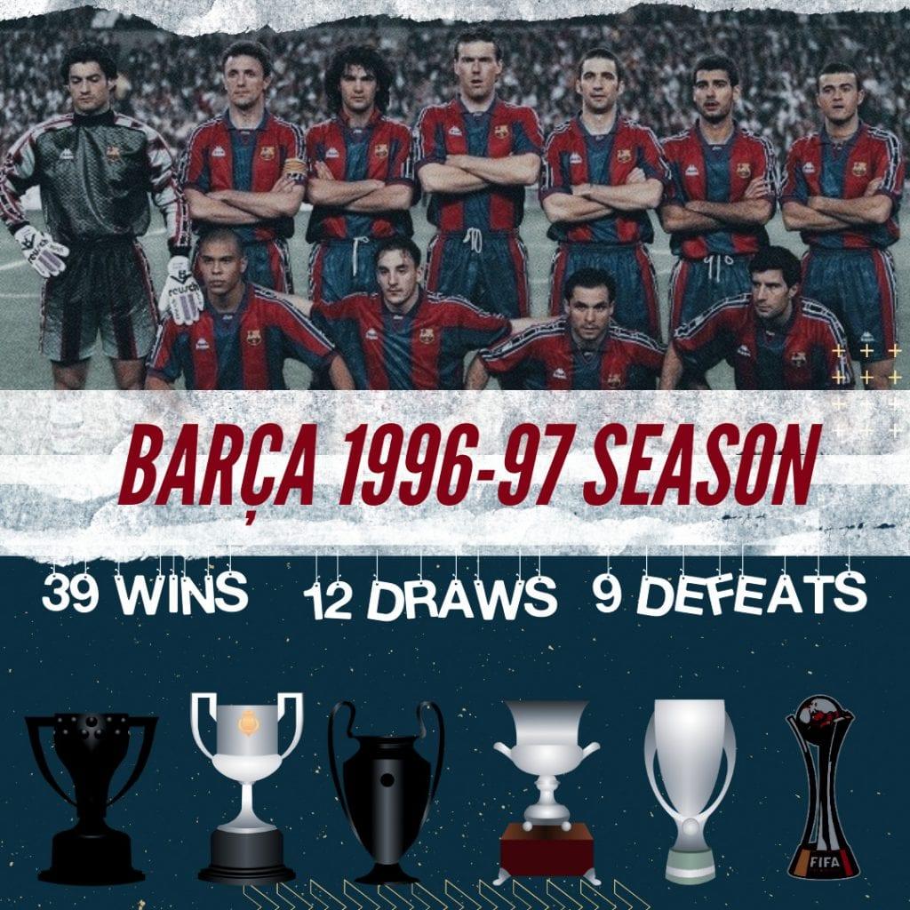 Barça 1996/97 season
