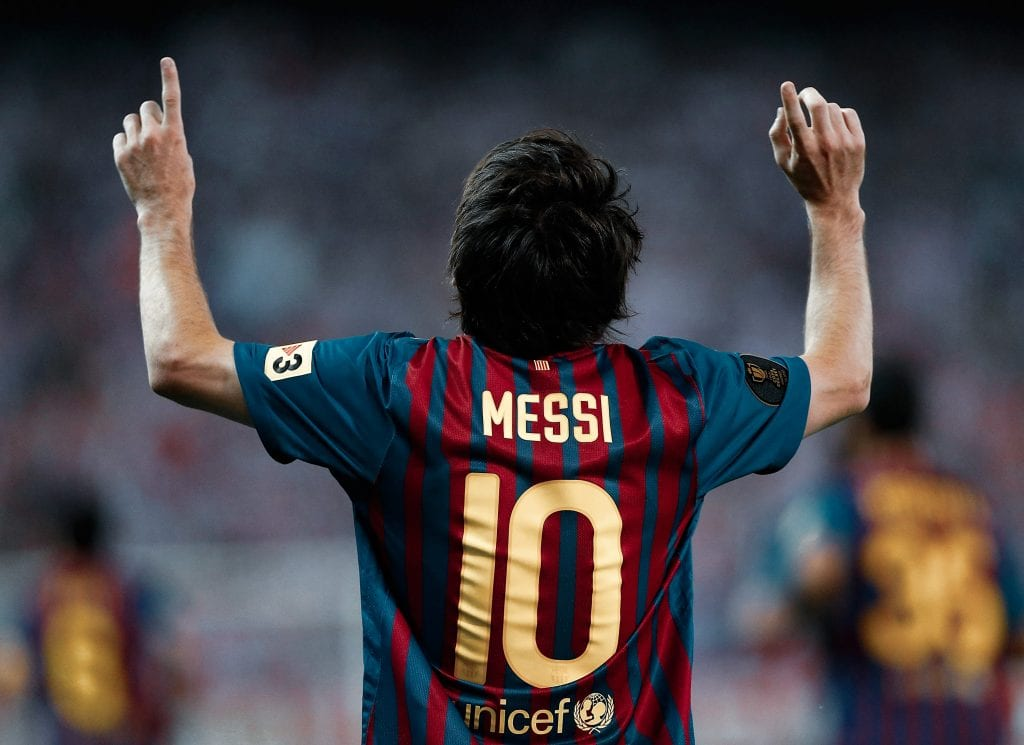 Lionel Messi Barcelona Athletic Club goals
