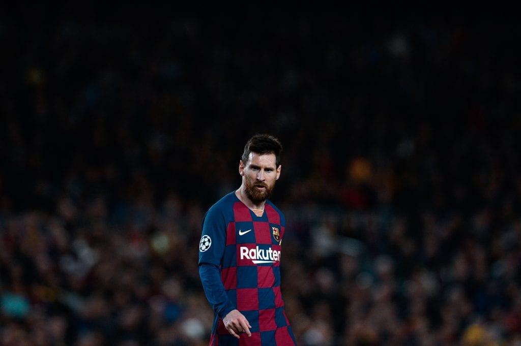 Lionel Messi Barcelona joy watching