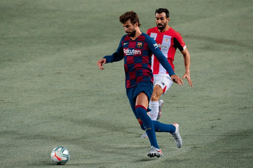 Gerard Piqué Barcelona Athletic Club player ratings