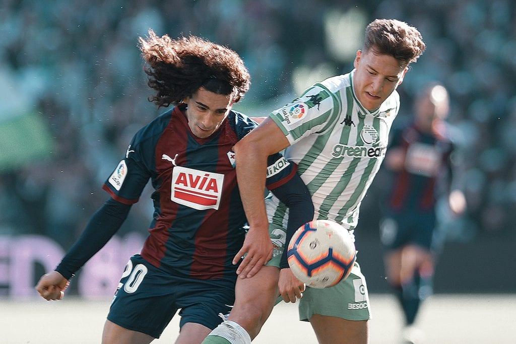 Marc Cucurella SD Eibar Francis Guerrero Real Betis sale Barcelona