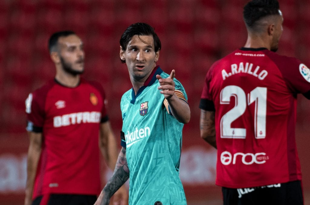 Lionel Messi Barcelona Mallorca Match Review