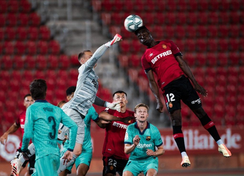 Marc-André ter Stegen Barcelona Mallorca positive signs