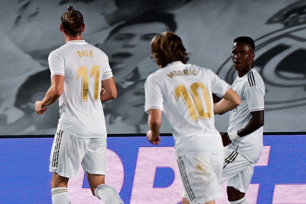 Vinícius Júnior Real Madrid La Liga matchday 31