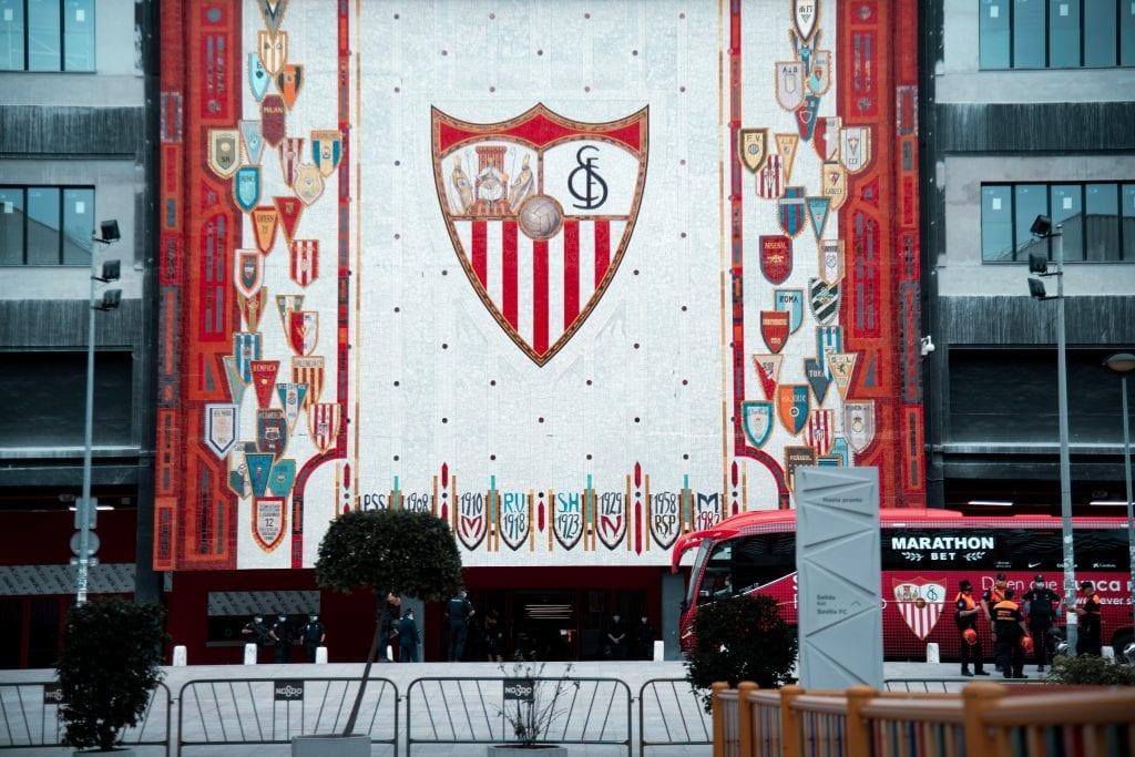 Ramón Sánchez Pizjuán Sevilla Barça Quique Setién press conference