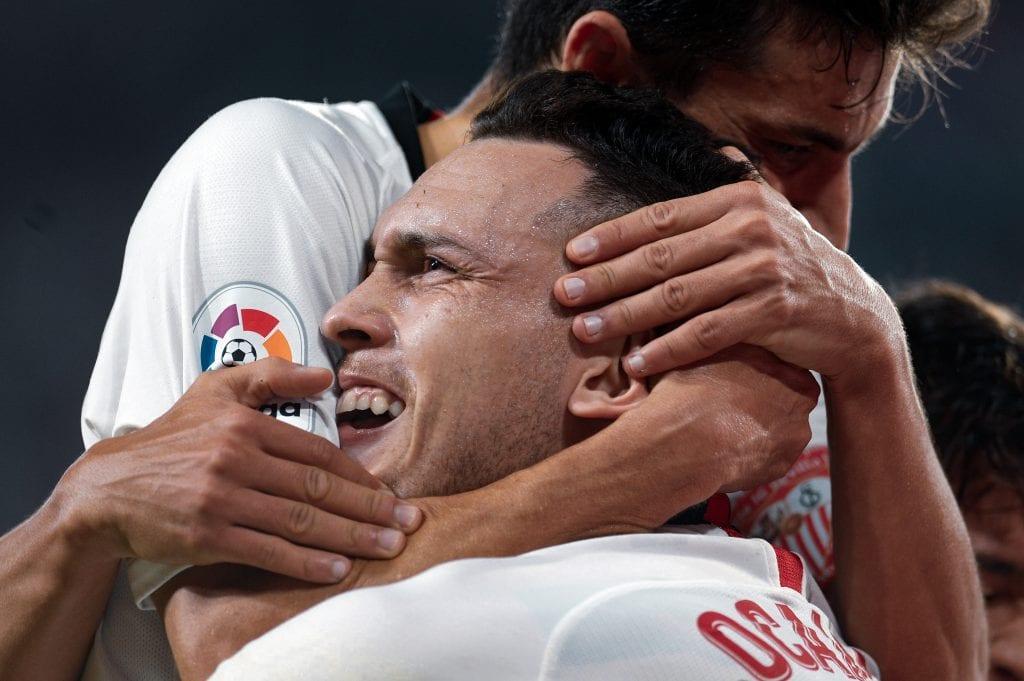 Lucas Ocampos Sevilla FC La Liga matchday 28