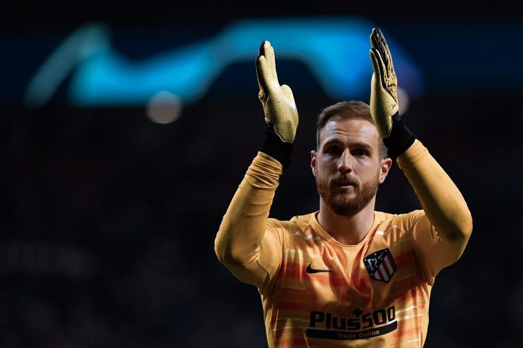 Jan Oblak Atlético de Madrid Barcelona predicting final score