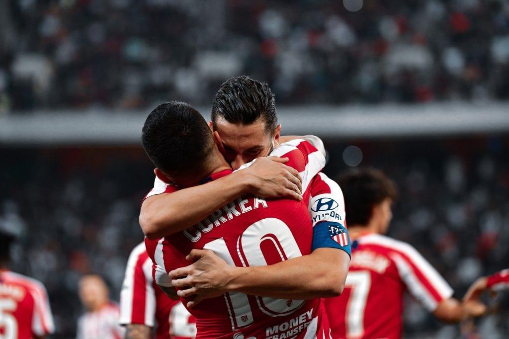 Koke Resurrección Ángel Correa Atlético de Madrid Barça La Liga title decider