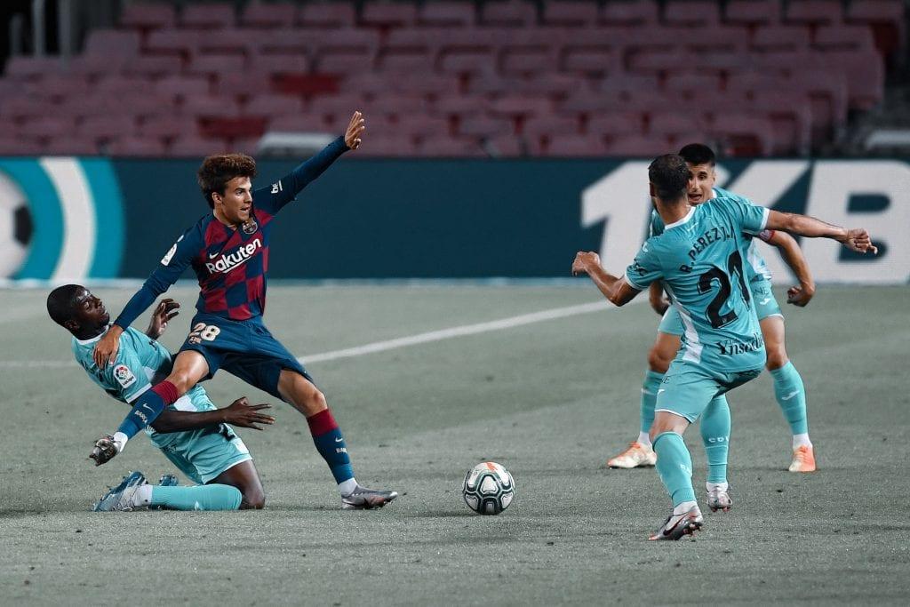 Riqui Puig Barcelona Leganés time
