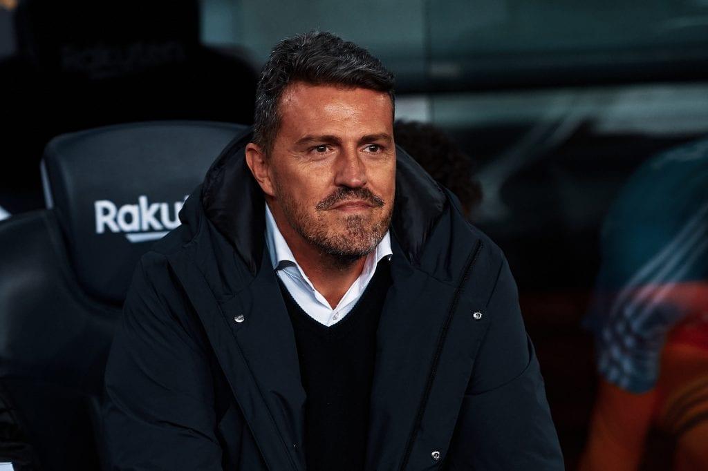 Óscar García Celta de Vigo Barcelona Camp Nou La Liga relegation battle