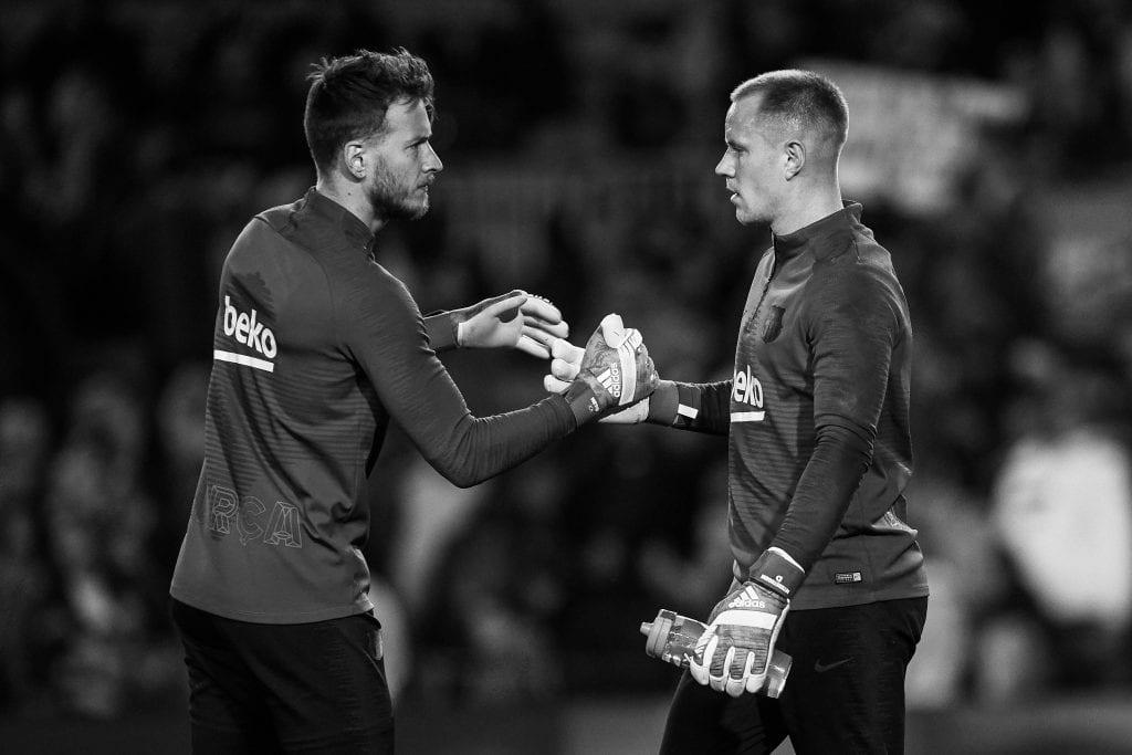 Marc-André ter Stegen Neto Murara Barça goalkeepers