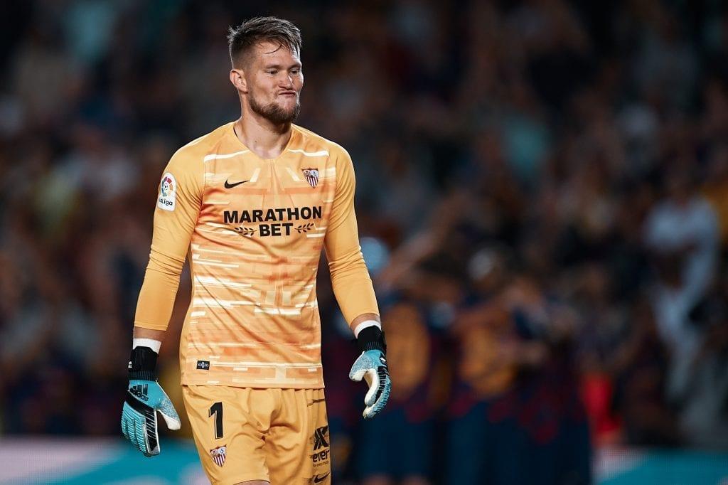 Tomáš Vaclík Sevilla Barcelona match preview