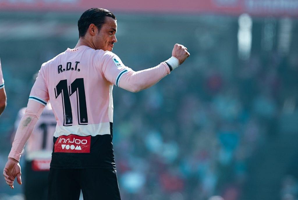 Raúl de Tomás RCD Espanyol La Liga matchday 29