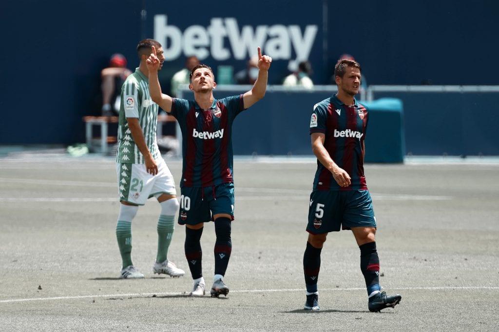 Enis Bardhi Levante UD Real Betis La Liga matchday 32