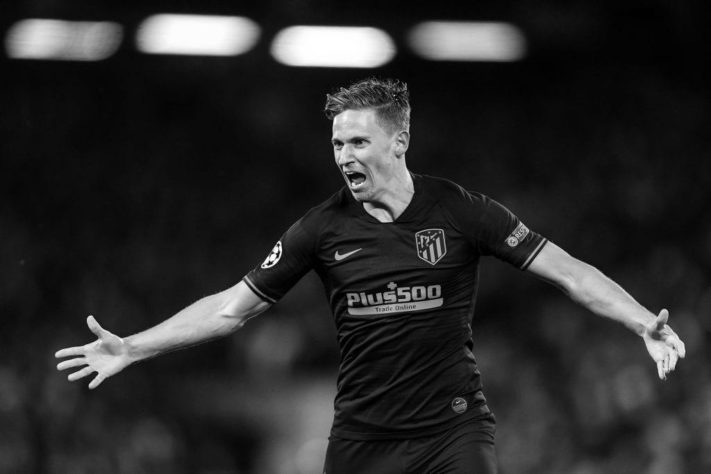 Marcos Llorente Atlético de Madrid La Liga matchday 28