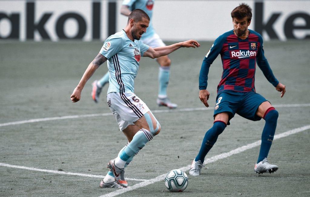 Okay Yokuşlu Gerard Piqué Celta de Vigo Barcelona takeaways