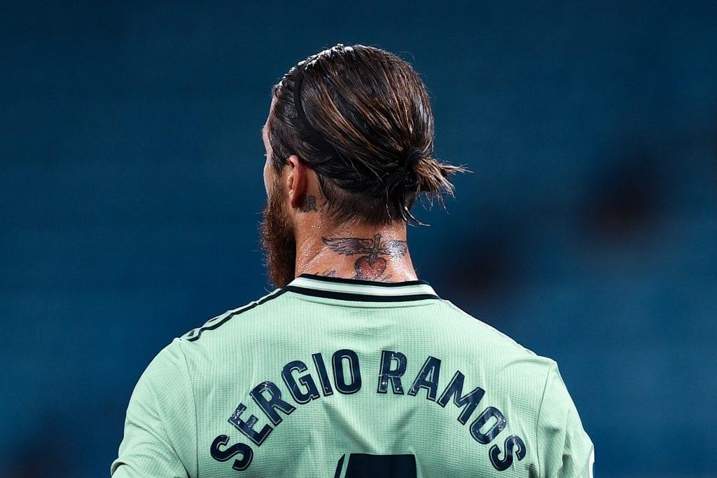 Sergio Ramos Real Madrid RCD Espanyol La Liga matchday 32