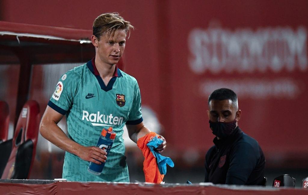 Frenkie de Jong Barcelona Mallorca player ratings