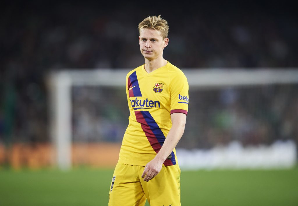 Frenkie De Jong Is Angry With Barca Medical Staff After Misdiagnosis Barca Universal