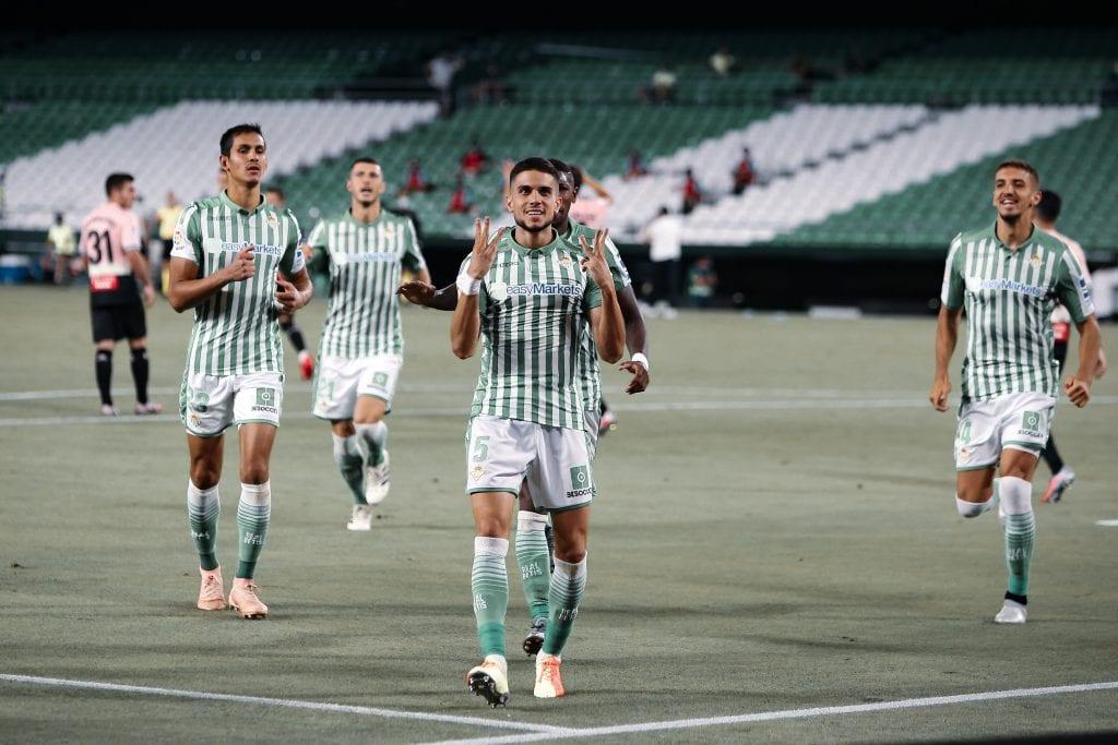 Marc Bartra Real Betis La Liga matchday 31