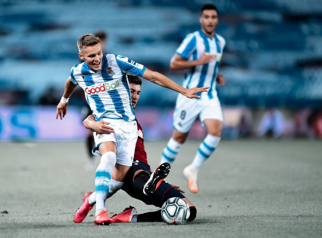 Martin Ødegaard Real Sociedad CA Osasuna La Liga matchday 28
