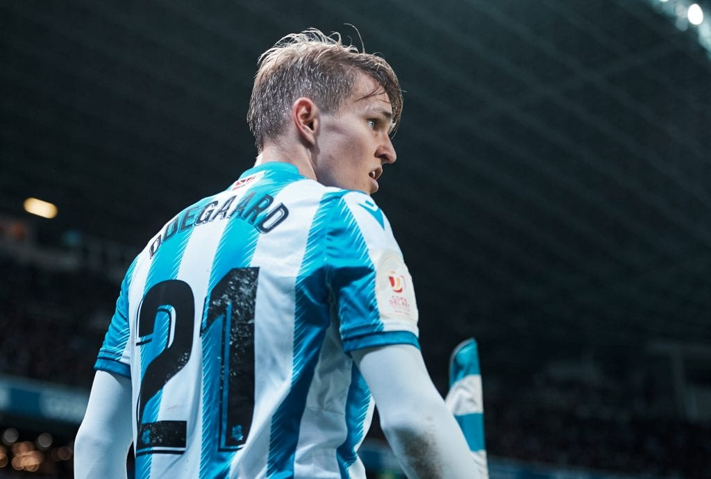 Martin Ødegaard Real Sociedad La Liga teams restart