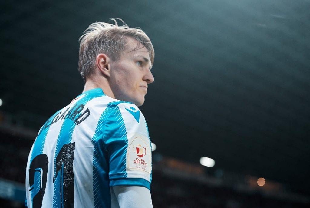 Martin Ødegaard Real Sociedad La Liga matchday 30