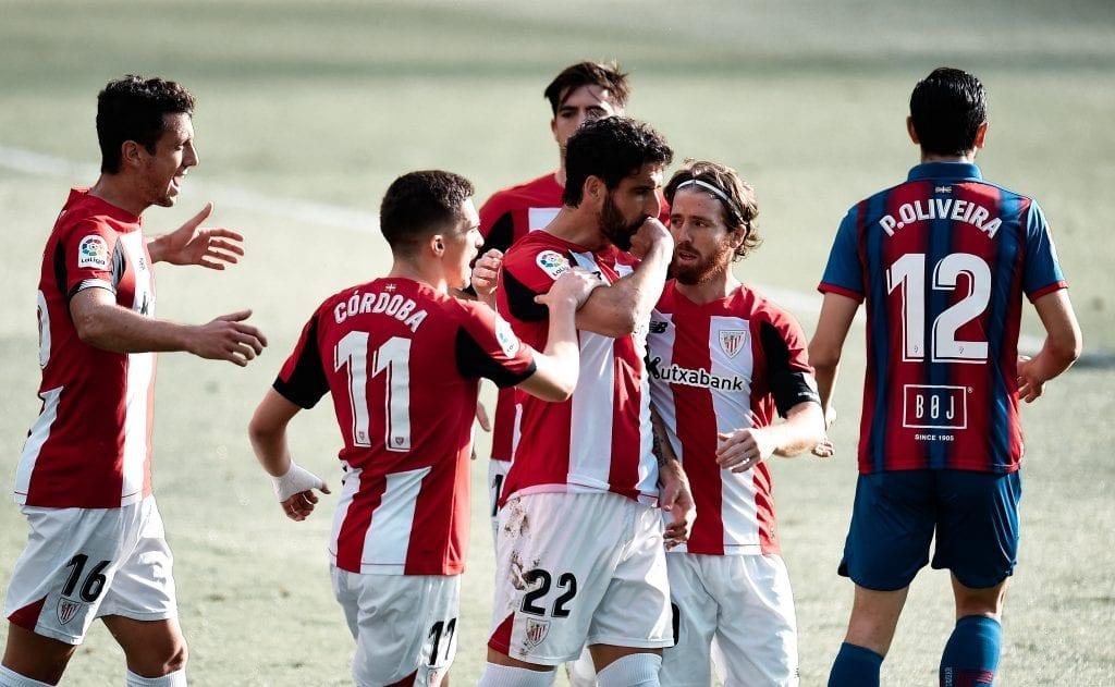 Reúl García Athletic Club Eibar La Liga matchday 29