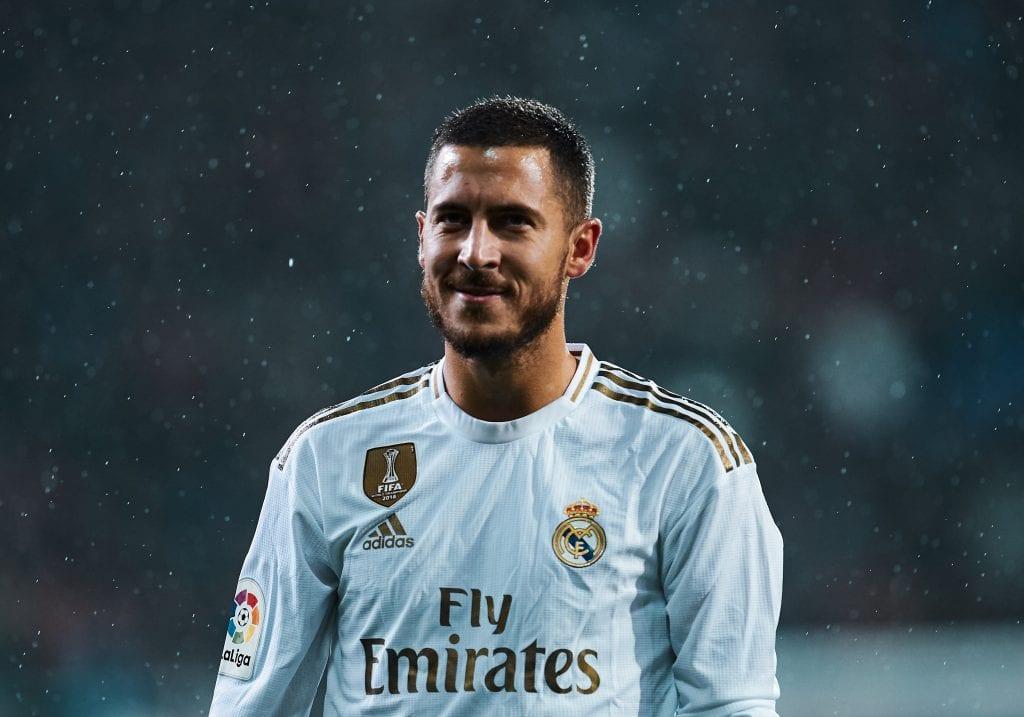 Eden Hazard Real Madrid La Liga teams restart