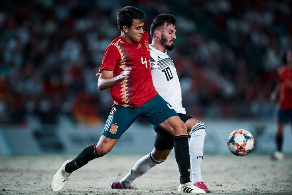 Eric García Spain U21 Barça