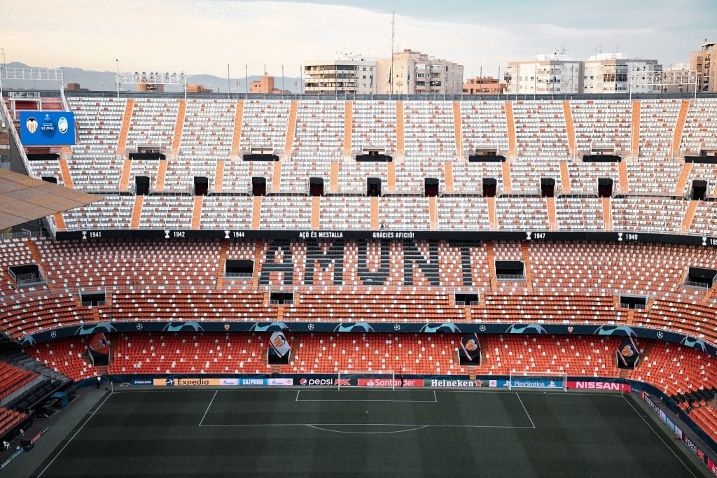 Valencia CF Mestalla La Liga matchday 28