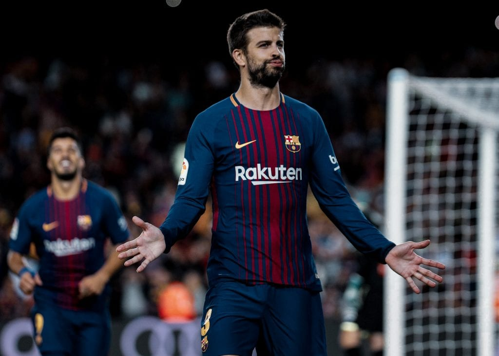 Gerard Piqué Barcelona Espanyol predicting