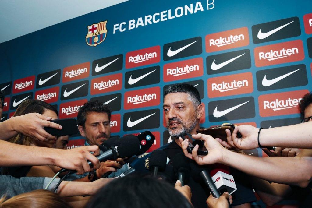 García Pimienta Barça B renewal