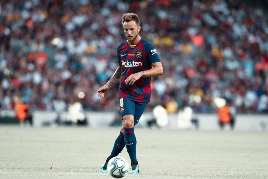 Iván Rakitić Barcelona players restart