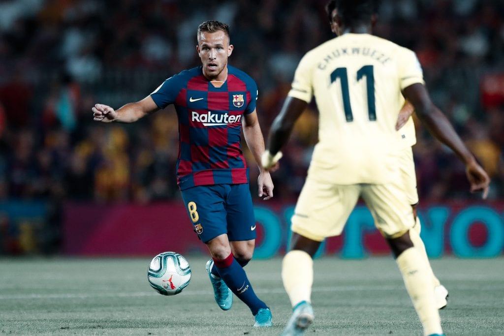 Arthur Melo Barça exit