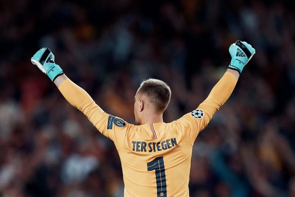 Marc-André ter Stegen Barcelona best players