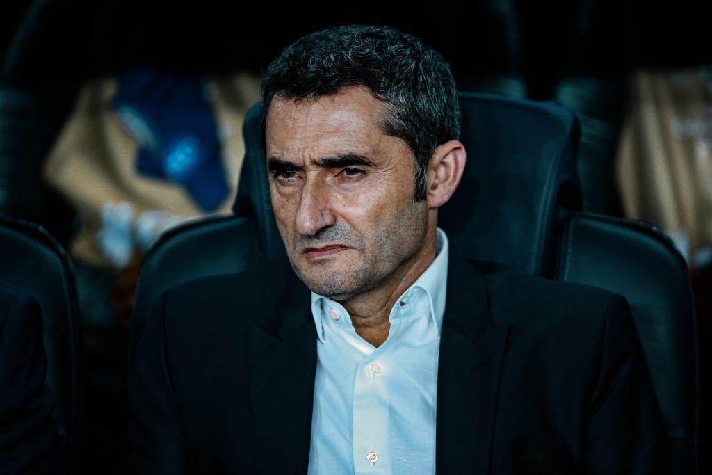 Ernesto Valverde Barça lost La Liga