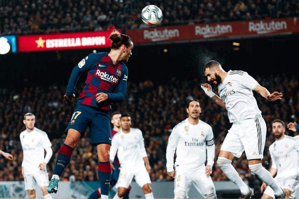 Antoine Griezmann Karim Benzema Barcelona Real Madrid La Liga lost