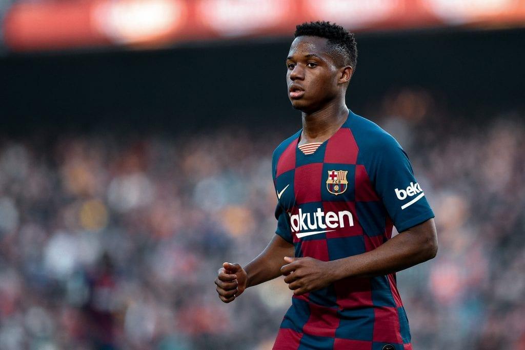 Ansu Fati Barça lost La Liga