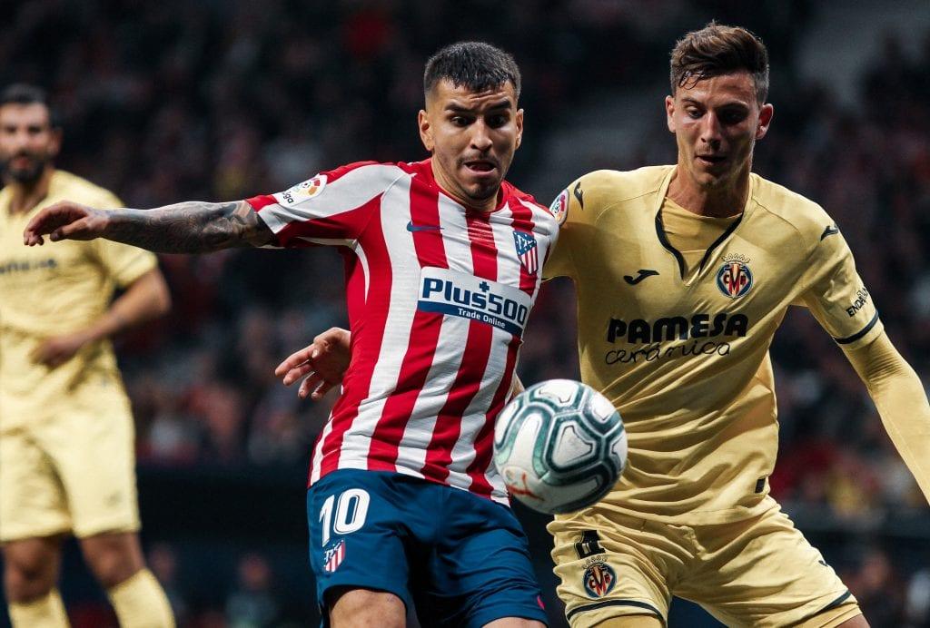 Pau Torres Ángel Correa Villarreal Atlético de Madrid